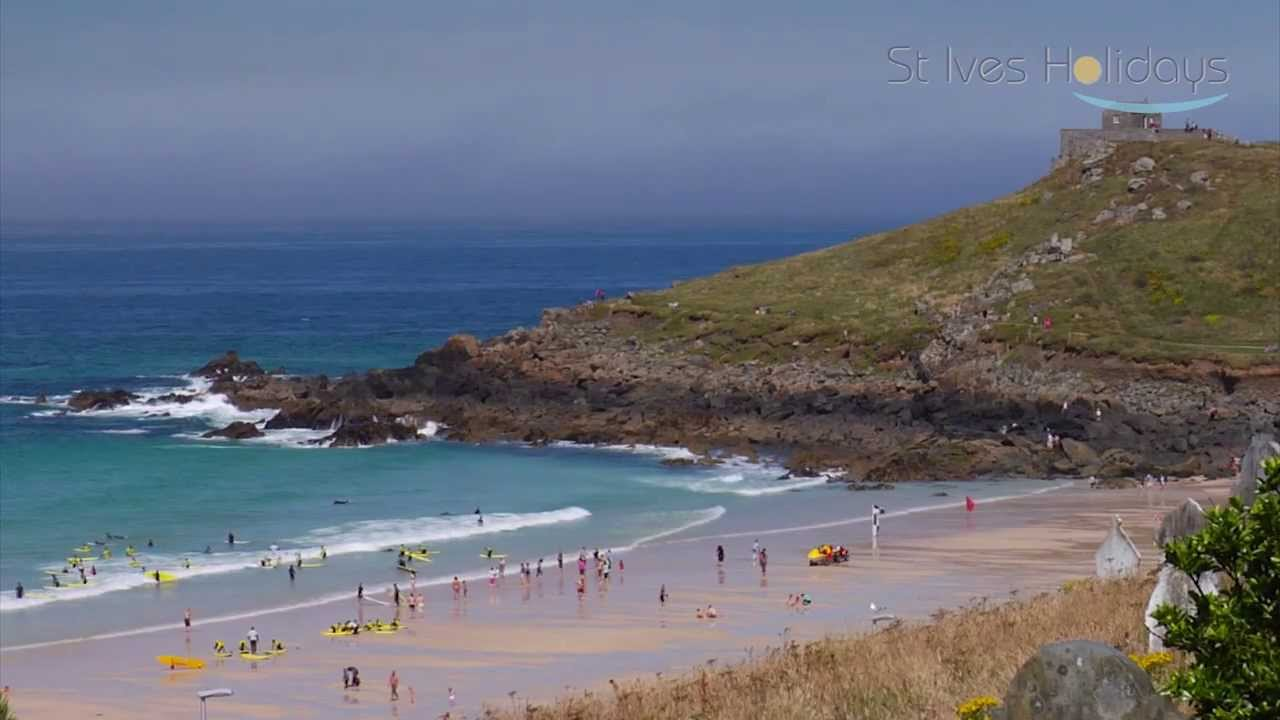 From Godrevy to Porthmeor, St Ives Bay