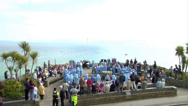 Gorsedd Proclamation St Ives 2010