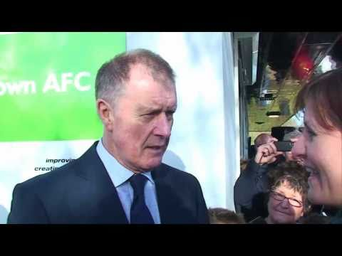 Sir Geoff Hurst in St Ives