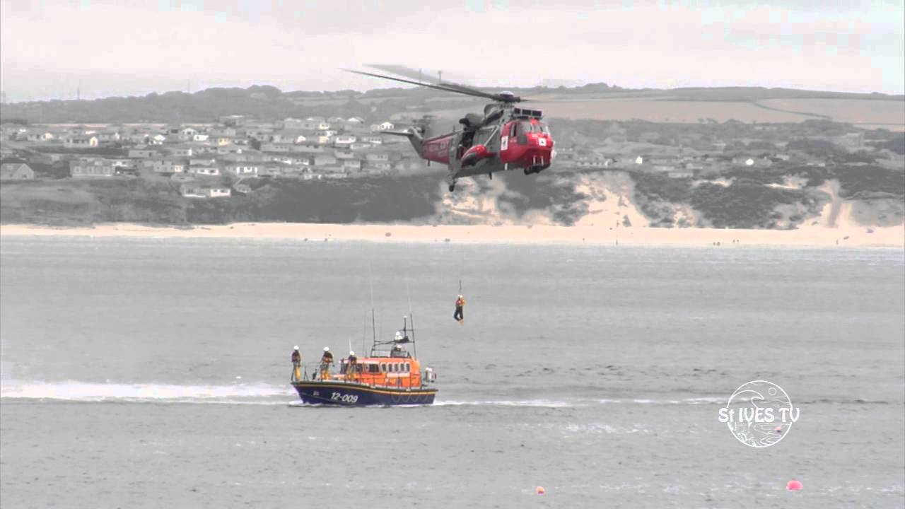 St Ives Lifeboat Day August 2013