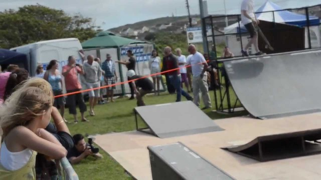 St Ives Skateboard & Scooter Competition