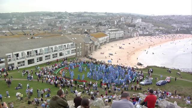 The 2010 Gorsedd Ceremony in St Ives