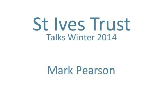 Mark Pearson – Old and New: Places and the Pursuit of Good Quality