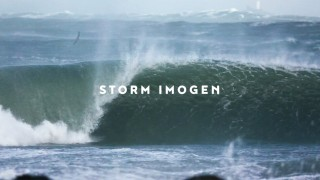 Storm Imogen meets St Ives