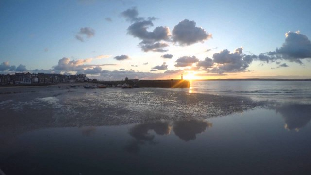 Sunrise Reflections St Ives