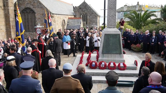 Remembrance Sunday St Ives 2016