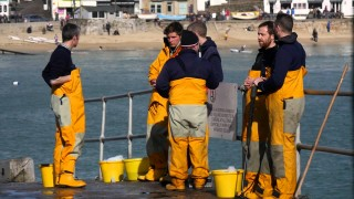 SOS Day St Ives Lifeboat Feb 2015